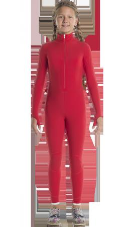 Тренировочный красный комбинезон