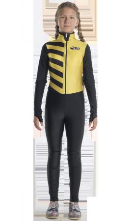Тренировочный желтый комбинезон